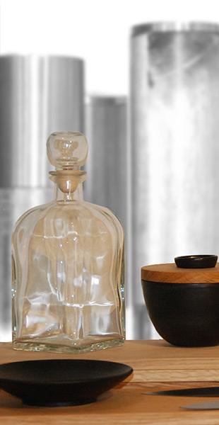 Karaffe / Tischzubehoer und Porzellan, Gilching